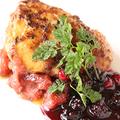 料理メニュー写真特選 フォアグラのポワレ ~季節のフルーツジャムソースを添えて~