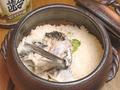 料理メニュー写真土鍋鯛メシ 一合/二合