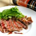 料理メニュー写真アンガス牛肉のタリアータ ルッコラ添え
