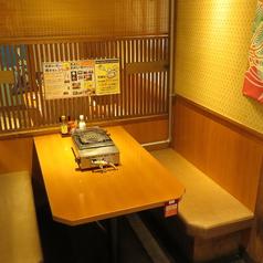 テーブルのお席です