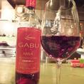 GABUオリジナルワインも有。勿論ガブ飲みで