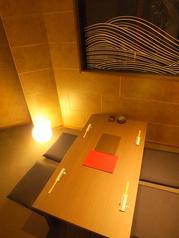 接待などにも適している個室完備。