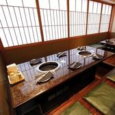 新宿エリアでは重宝する中規模サイズの個室。各階2名4名6名8名10名~席タイプも人気の半個室、掘りごたつ席、テーブル席と幅広くご用意。各階で貸切可能(15名~40名)お問い合わせください。