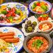 旬野菜と鮮魚を使用したタパス料理ALL 480円♪