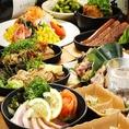 3時間飲放■ゆずの香-kaori-■【8品3500円⇒2990円】季節の釜飯&ヘルシーメニュー満載!