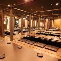 日本最大級の個人店 最大150名様まで完全個室で対応