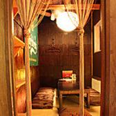 半個室のオシャレな空間(藤井寺 ブラジル シュラスコ 宴会 記念日 食べ放題 飲み放題 オシャレ 2階 ソファ 肉)