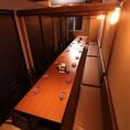 最大50名様でご利用可能の個室です。会社宴会や大人数での集まりにピッタリです◎