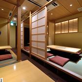 【全席完全個室】最大6名様まで可能のお席です。大切な 接待 やお食事会に◎