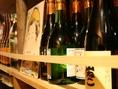 お料理に合うお酒も豊富にご用意してます!