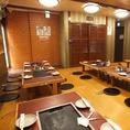 【フロア完全貸切◎50名様~】新宿でお好み焼きを食べながら大人数で貸切できるのは当店の強みです。