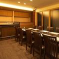 【ライブ感のある空間も!】目の前で職人が寿司を握ってくれる特別なプランもご用意◎会社宴会やせっかくの食事会で盛り上がりも◎※お部屋代を別途頂きます。