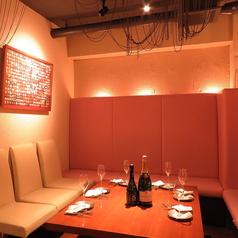 プライベート感のある半個室は、大切な方のご接待や、特別な宴席にも最適です。