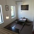 少人数宴会にも最適なお座敷個室☆衝立式の個室になっております。