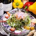 料理メニュー写真15品目野菜!太陽と大地のサラダ