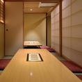 【全席完全個室】最大8名様まで可能のお席です。洗練された上質個室です。