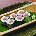 料理メニュー写真国産生まぐろたたきの細巻き寿司