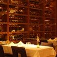 500種類以上のワインを取り揃えております