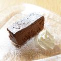 料理メニュー写真北海道花畑牧場の濃厚ガトーショコラ