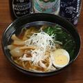 料理メニュー写真中華そば(醤油)
