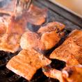 昔懐かしのロースタータイプの焼き肉屋!焼きトンちゃんはオススメの一品。