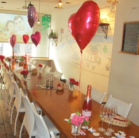 結婚式2次会、趣味の集まり、party、様々なシーンで♪