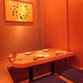 個室は全7部屋ご用意しております。人数に合わせて仕切りも稼働可能!最大24名まで。