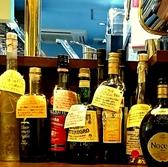 食前酒も食後酒も品ぞろえバッチリ。写真にあるのはお店あるほんの一部。