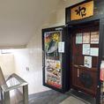 木製の自動ドアが目印☆店舗入口。お気軽にお入りください♪