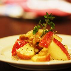 リンゴとナッツとハチミツとAOCカマンベール