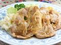 料理メニュー写真焼肉スタミナ焼セット