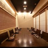 同僚との会食や接待でもご利用いただける個室をご用意しております。席数も少ないため、お早めにご予約ください。