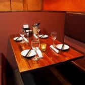 様々なシチュエーションに対応可能な雰囲気自慢のお席です。