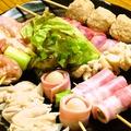 料理メニュー写真串焼の盛合せ