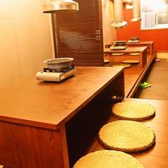お子様にも安心のお座敷は宴会利用の時にはテーブルがくっつきます!