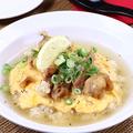 料理メニュー写真鶏塩天津飯