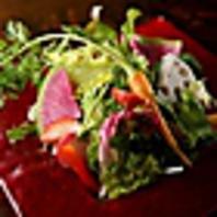 【地場野菜のサラダ】ensoの野菜サラダ