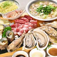 冬は「牡蠣」付きBBQコース!!