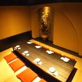 和情緒あふれる個室空間で、自慢の旬料理をご堪能下さい。