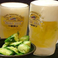 マイナス20度に冷やしたキンキンの生ビールで乾杯☆