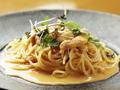 料理メニュー写真生雲丹のトマトクリームスパゲッティ