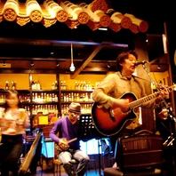 沖縄音楽LIVEが◎生の迫力がたまりません♪