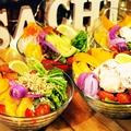 料理メニュー写真本日の野菜7品目のパワーサラダ