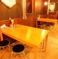【テーブル席】4名様用のテーブル席