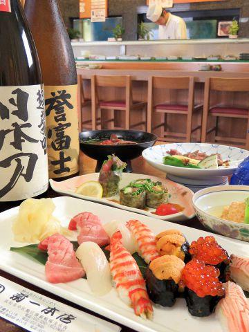 【記念日・ハレの日に】平日カウンター現定コース5000円