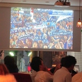 サッカー観戦に人気のお店
