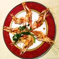 料理メニュー写真海老の殻焼き