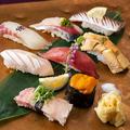 料理メニュー写真■握り寿司(八貫)