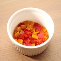 料理メニュー写真【野菜ソース】パプリカソース