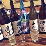 お酒の種類が豊富♪